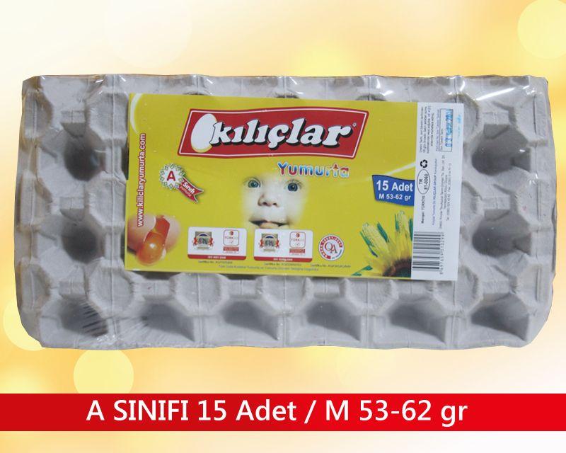 A SINIFI 15 ADET / M 53-62 gr.
