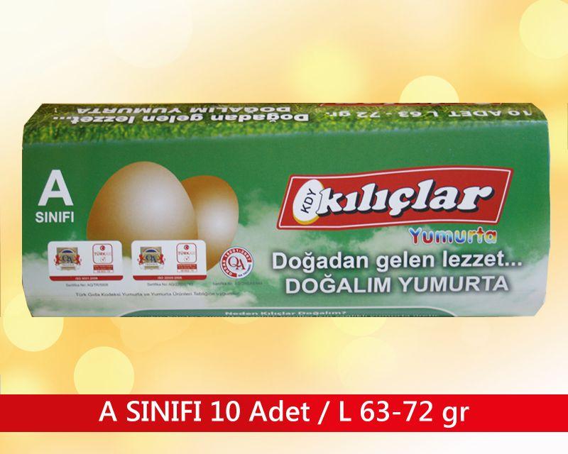 A SINIFI 10 ADET / L 63-72 gr.