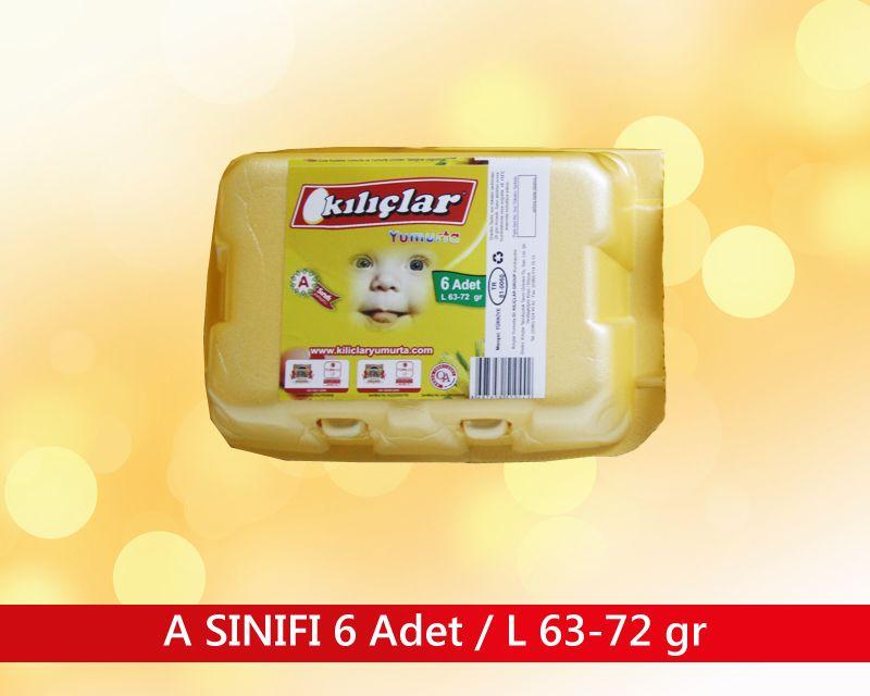 A SINIFI 6 ADET / L 63-72 gr.