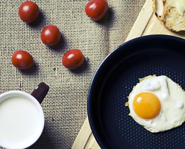 Yumurta Pişirken