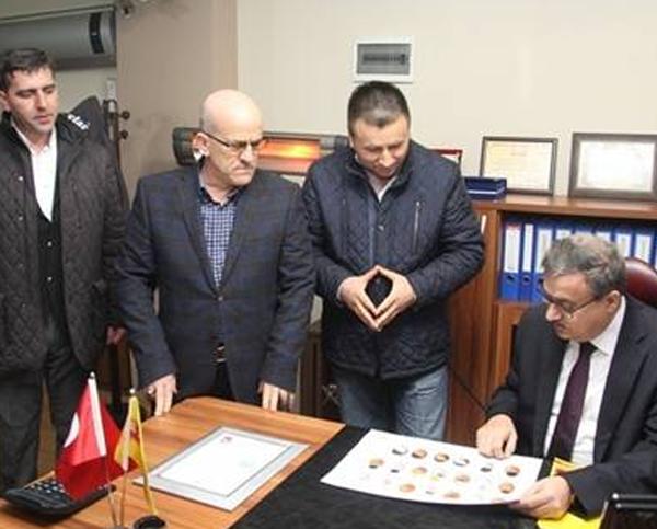 Vali Ali İhsan Su, Kılıçlar Yumurta Tesislerini İnceledi